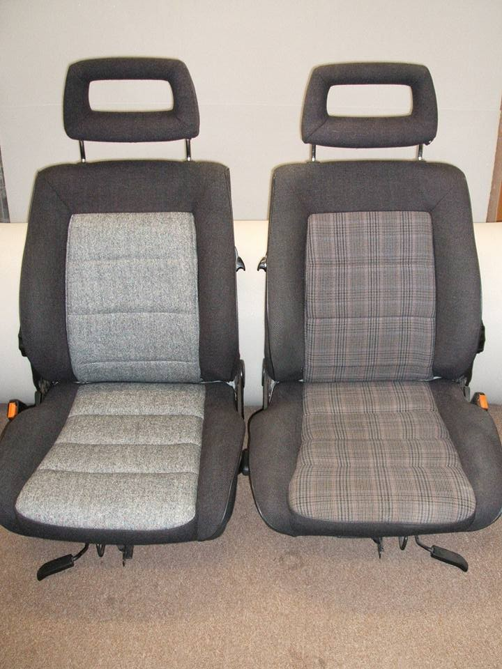 Photo - Audi Quattro - Seats Before & After