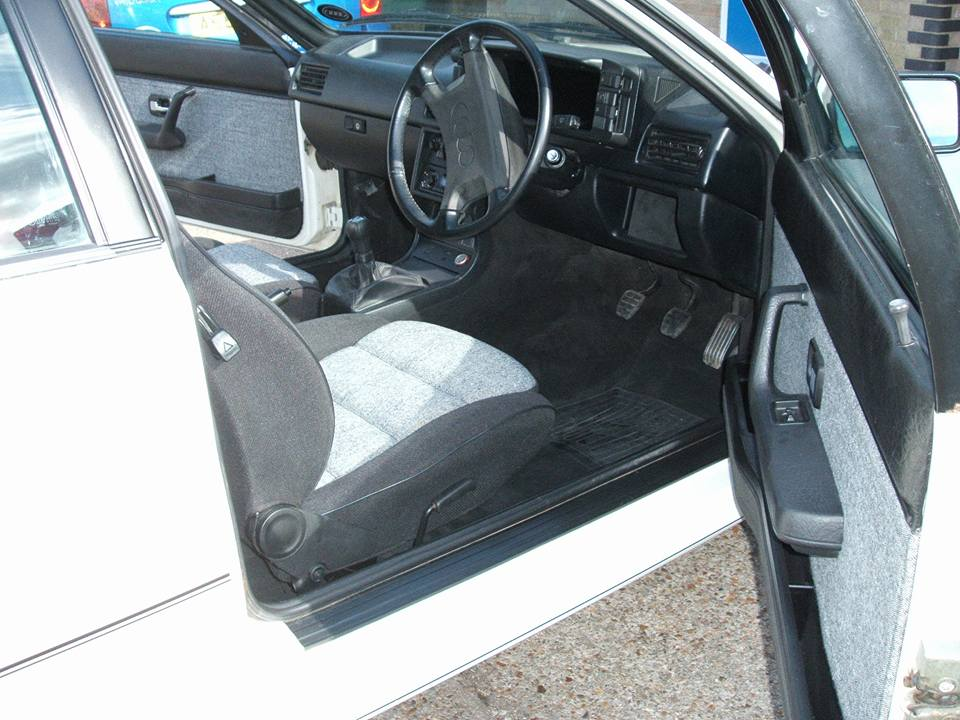 Photo - Audi Quattro - Seats refitted after re-trim
