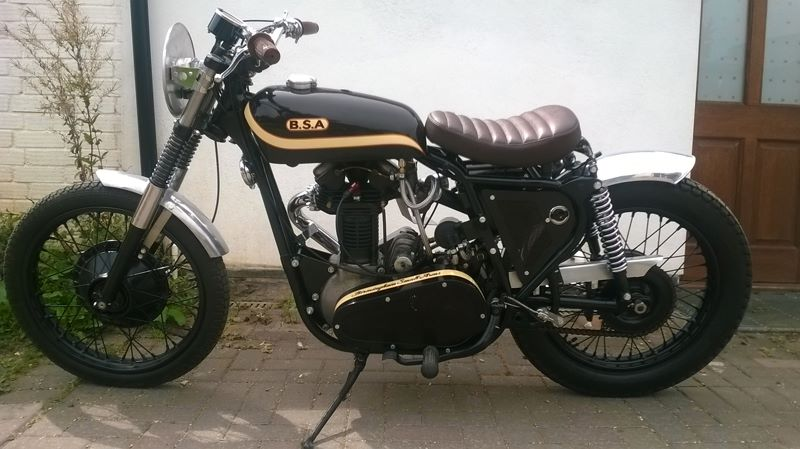 BSA Flat tracker  -  Click to see more...