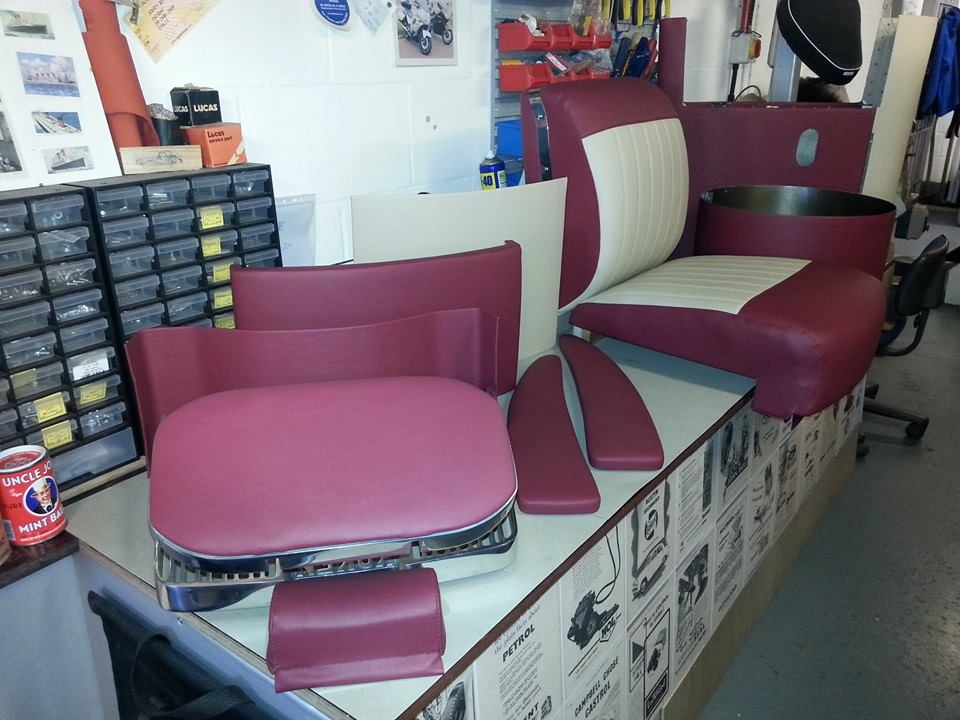 Photo - Barbers Chair - Ready for Re- Assembly