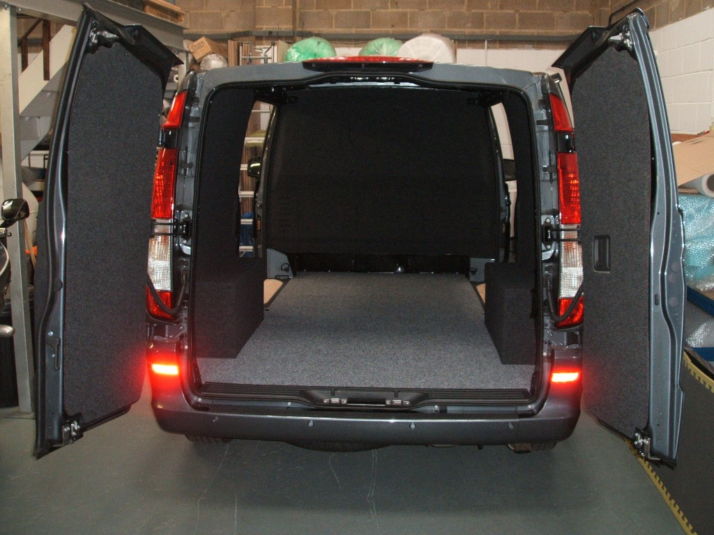 Photo - Vito Van with Carpeted Loadspace