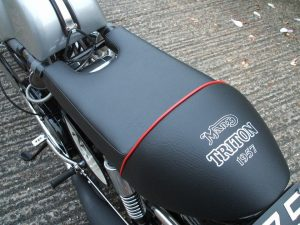 Photo - New Motorcycle Seat Cover Complete with Logo