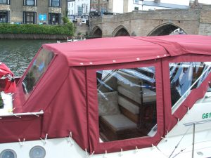 Leisure Craft Refurbishment - Canopy & Zip Repairs - Great Ouse St Ives
