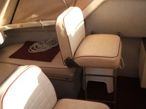 Leisure Craft Refurbishment - Helm Seating