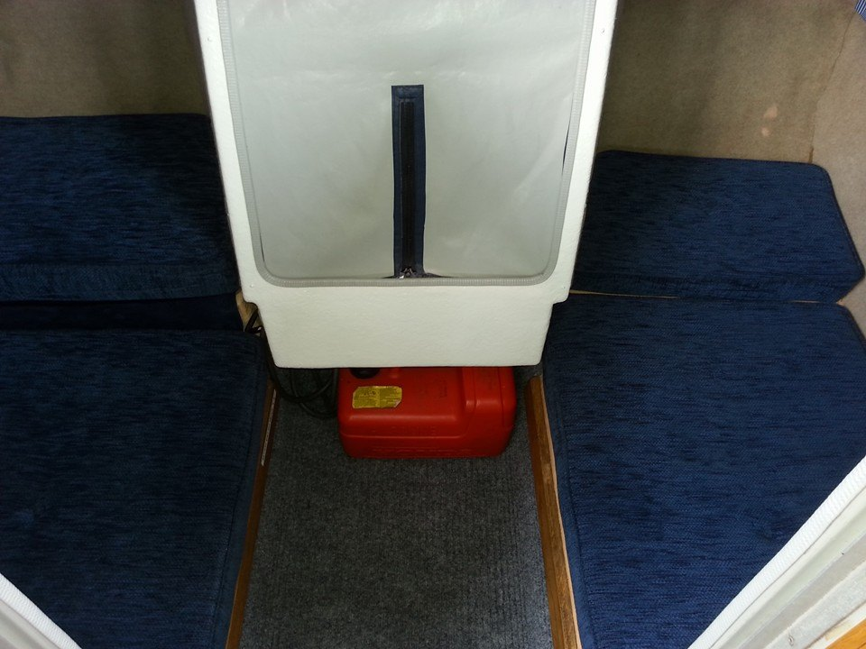 Photo - Aft cabin after refurbishment