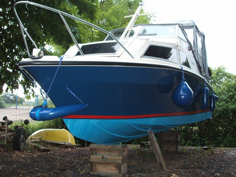 Photo - After hull paint and antifouling