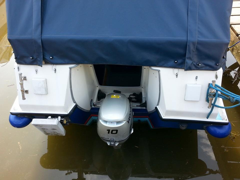 Photo - Honda outboard