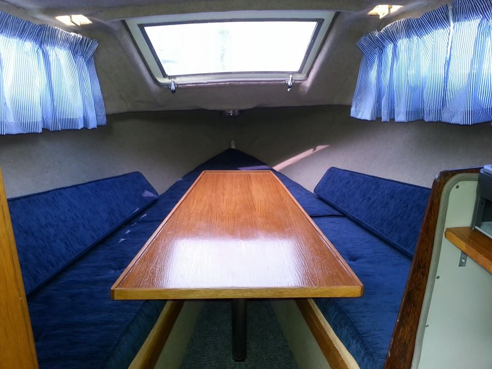 Photot - forward cabin after cleaning and painting